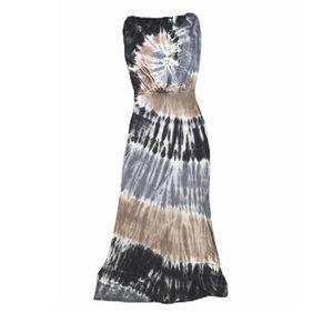 YFB Young Fabulous Broke Sydney Maxi Tie Dye Dress